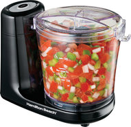 - 3-Cup Food Chopper - Black