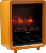 - Fireplace Electric Heater - Orange