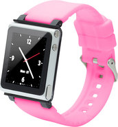 - Q Collection Wrist Strap for iPod Nano 6G - Pink