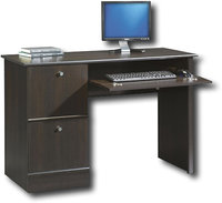 - Computer Desk with Slide-Out Keyboard Shelf - Ci