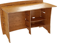 - Sustainable Straight Desk - Amber