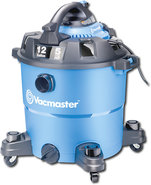 - 12-Gallon Wet/Dry Vacuum with Detachable Blower