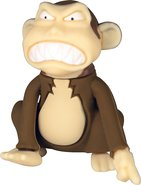 - Monkey 16GB USB 20 Flash Drive - Brown/Cream