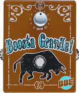 - Boosta Grande Clean Boost Pedal for Most Electri