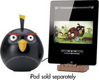 - Black Bird Speaker for Apple iPod, iPhone and iP