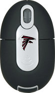 - Atlanta Falcons Mini Wireless Optical Mouse - Si