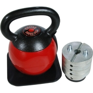 - Adjustable Kettle Versa-Bell - 36 lbs - Black, R