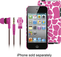 - Hard Shell Case and Earbud Headphones for Apple