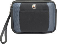 - Lunar Double-Compartment Case for Most GPS - Bla