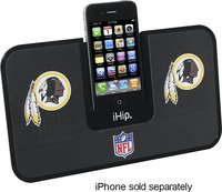 - Washington Redskins iDock Speakers