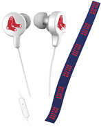 - Boston Red Sox Shoelace Earbud Headphones
