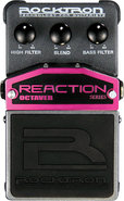 - Reaction Octaver Octave Effects Pedal for Electr