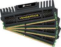 - Vengeance 4-Pack 8GB CL10 DDR3 DIMM Desktop Memo
