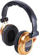 - Over-the-Ear DJ Headphones - Gold