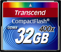 - 32 GB CompactFlash (CF) Card - 1 Card
