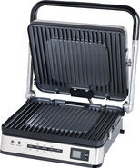 - Searing Grill and Griddle - Silver/Black