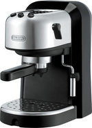 - Espresso and Cappuccino Maker - Black
