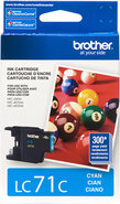 - Inkjet Cartridge for Brother Printers - Cyan
