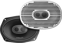 Polk Audio - Grille for Most 6   x 9   3-Way Coaxi