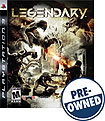 Legendary - PRE-OWNED - PlayStation 3