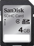- 4GB Secure Digital High Capacity (SDHC) Memory C