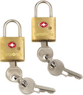 - Travel Sentry Brass Key Locks (2-Pack) - Brass