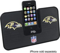 - Baltimore Ravens iDock Speakers