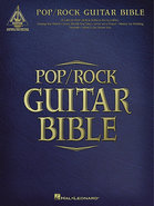 - Various Artists: Pop/Rock Guitar Bible Sheet Mus