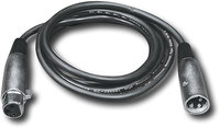 - 25' 3-Pin DMX Cable - Black
