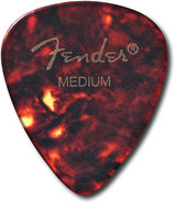 - Medium Guitar Picks (12-Pack) - Tortoise Shell