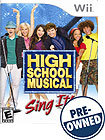 High School Musical: Sing It - PRE-OWNED - Nintend