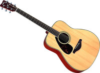 - 6-String Full-Size Dreadnought Acoustic Guitar -