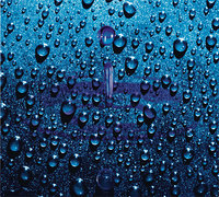 - 3D Mouse Pad (Raindrop) - Blue