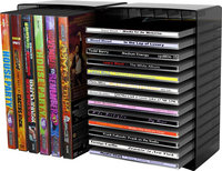 - 26-CD/12-DVD Disc Storage Module - Black