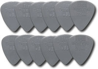 - Nylon Standard Guitar Pick (12-Pack) - Gray