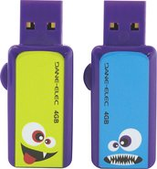 - ColorBytes Lil' Monsters 4GB USB Flash Drives (2