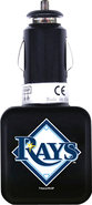 - Tampa Bay Rays Twin USB Car Charger - Black