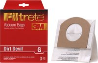 - Filtrete G Vacuum Bag for Most Dirt Devil Corded
