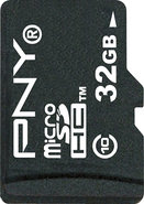 - 32GB High Speed microSDHC Class 10 Memory Card