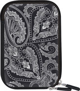 - Macbeth Zippered Camera Case - Neo Paisley Black