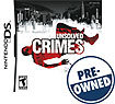 Unsolved Crimes - PRE-OWNED - Nintendo DS