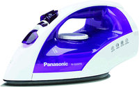 - Steam/Dry Iron - White/Violet