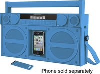 - iP4 Boombox with FM Radio and Apple iPhone and i