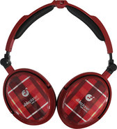 - Extreme Over-the-Ear Headphones - Red Plaid