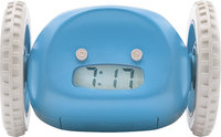 - Clocky Alarm Clock Radio - Blue