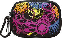 - Flower Graffiti Camera Case - Black