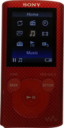 - Refurbished Walkman 8GB Video MP3 Player - Red