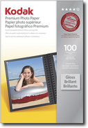 Kodak - 100-Pack 4   x 6   High-Gloss Photo Paper