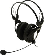 - Hi-Fidelity Stereo PC Headset