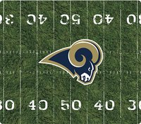 - St Louis Rams Mouse Pad - Black